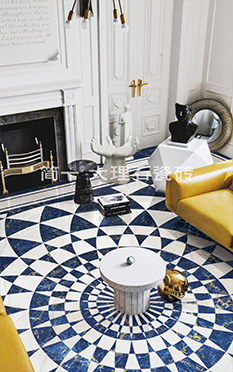 宝石蓝 Diamond Blue